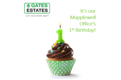 Mapplewell Office 1st Birthday!